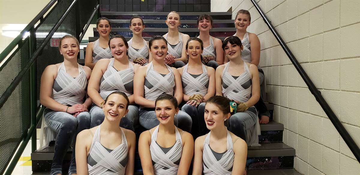 Moon Area High School Winterguard 2nd Place