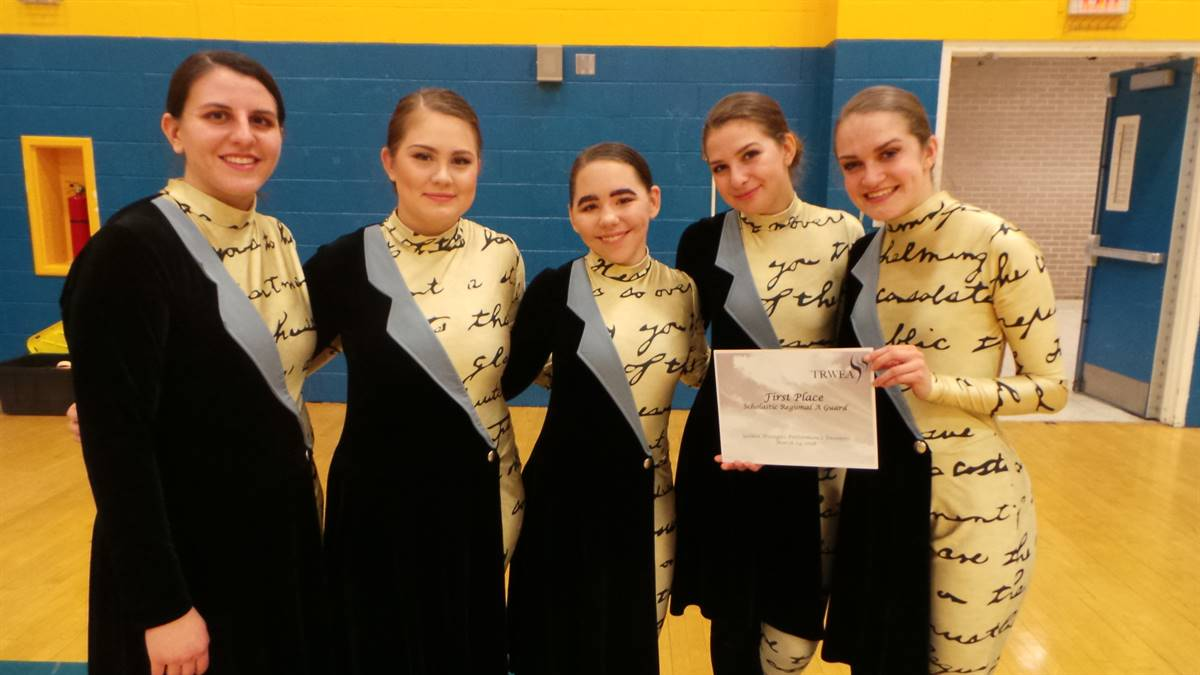 Moon Winter Guard - Scholastic Regional A 1st Place