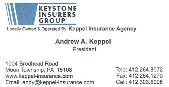 Keppel Insurance is a Gold Sponsor for the Moon Area Instrumental Music Program